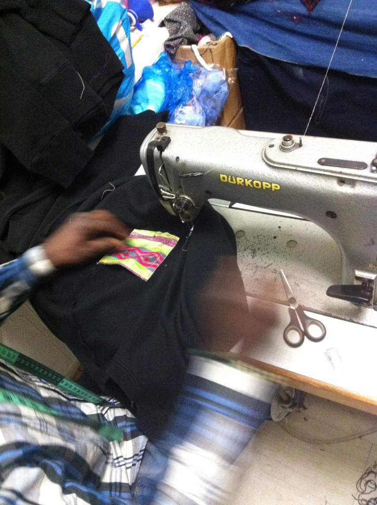 Senegalese Tailor at work