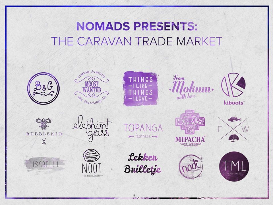 Nomads Caravan trade market