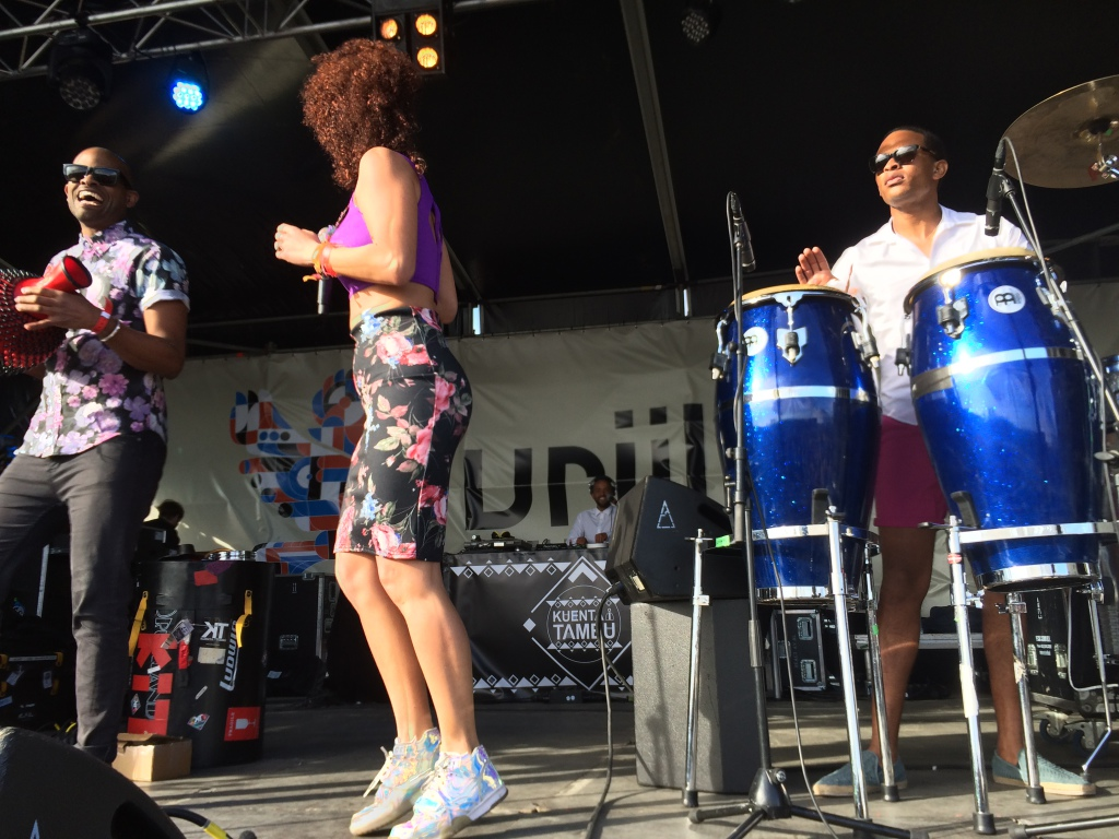 Kuenta I Tambu at Vrijland Festival