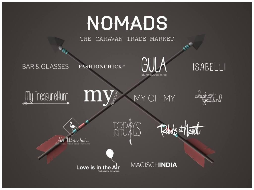 Caravan Trade Market at Nomads Festival 2015