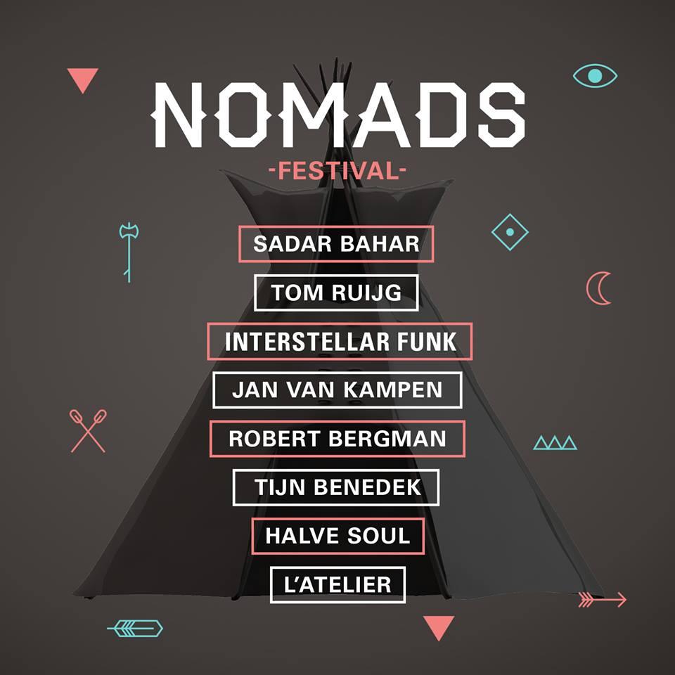 Tipi Stage at Nomads Festival