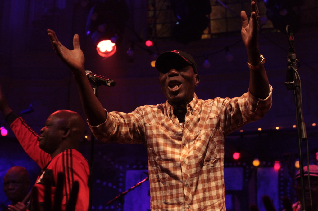 Seun Kuti & Egypt 80 in Paradiso. African music in Paradiso Amsterdam at Fela Kuti tribute night: Felabration 2015